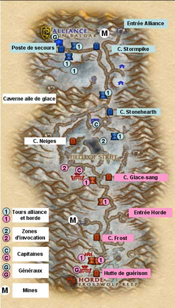 La vallée d'Altérac - tactique
