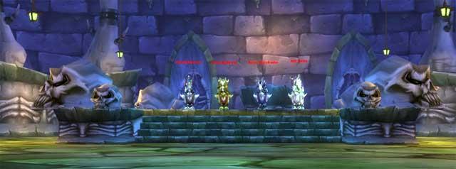 Les quatre Cavaliers - Naxxramas